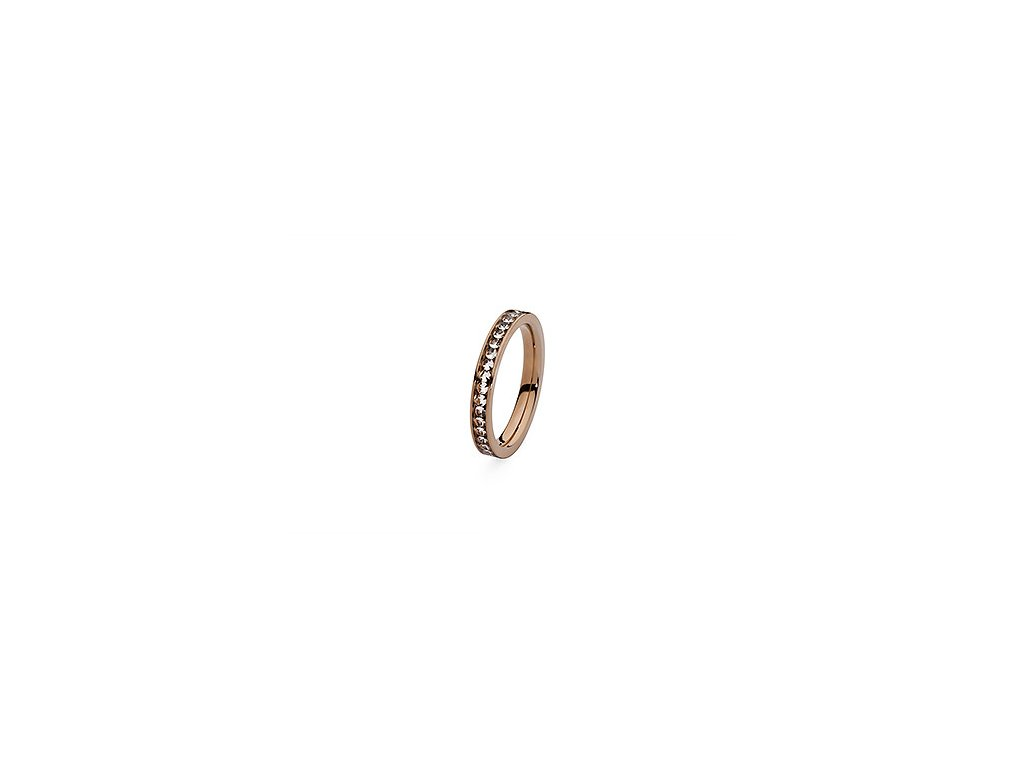 Prsten z chirurgické oceli Nueva Deluxe (velikosti 56)