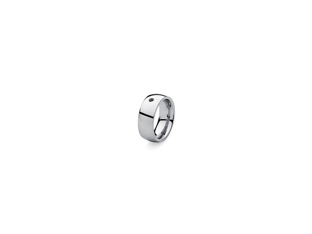 prsten z chirurgické oceli Qudo Famosa big (velikosti 62)