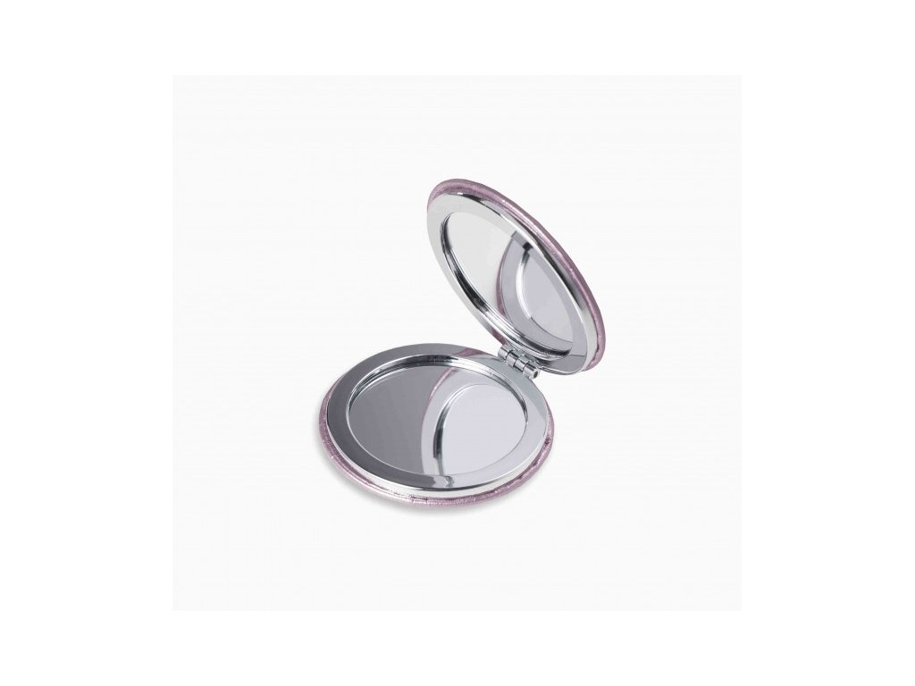 compact mirror oh so pretty metallic pink (1)