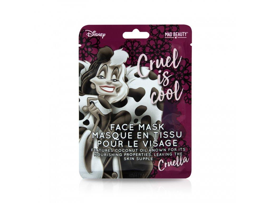 Villians Face Mask Cruella