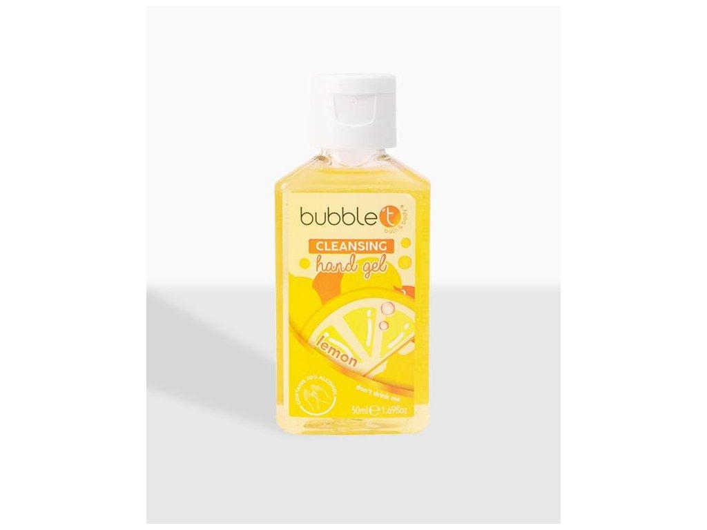 lemon tea hand sanitising cleansing gel 600x