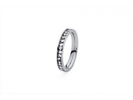 Prsten z chirurgické oceli Nueva Deluxe (velikosti 60)