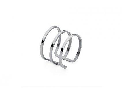 prsten z chirurgické oceli Qudo Cesena