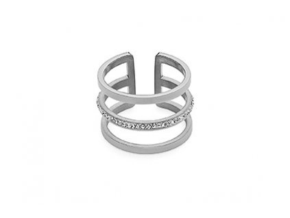 prsten z chirurgické oceli Qudo Cesena Deluxe