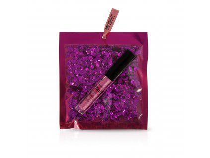 Pink Sequins Lip Gloss