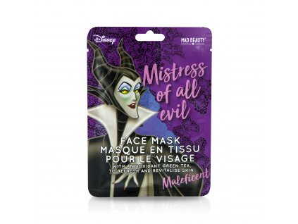 Villians Face Mask Maleficent
