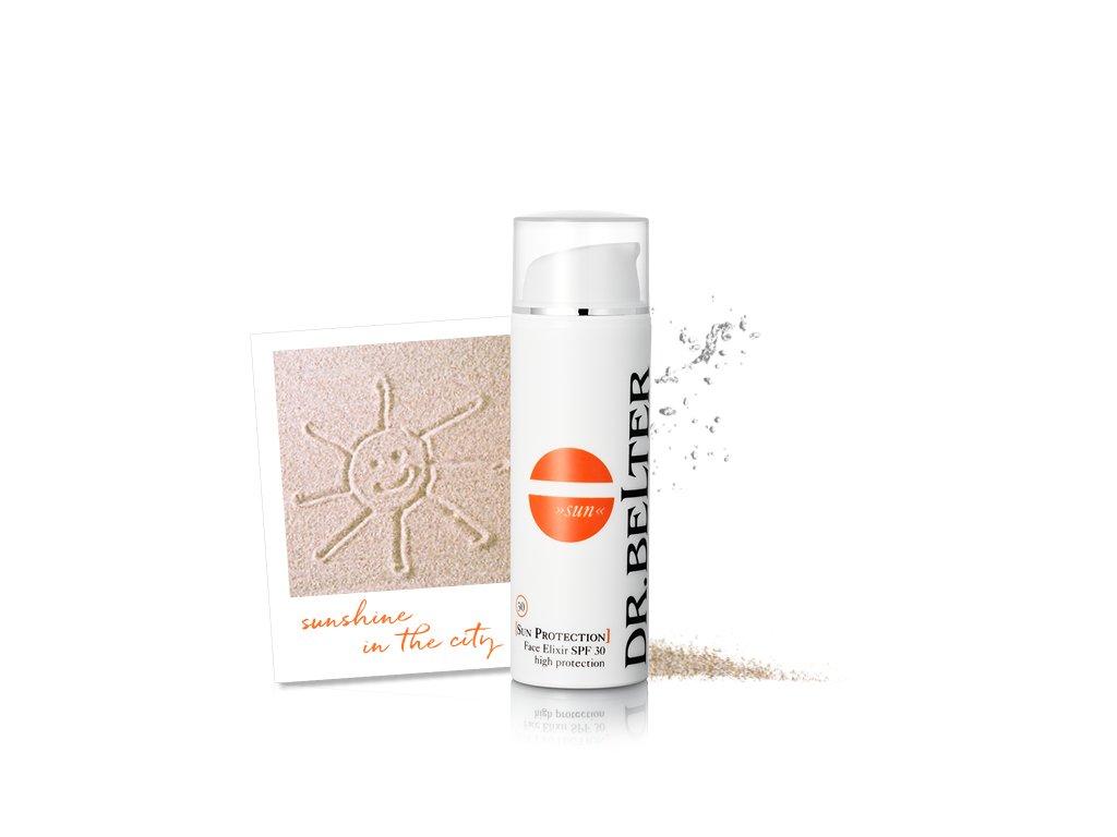821 sun protection face elixir