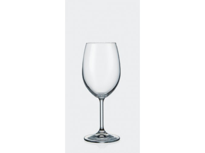 1474 ceska sklenicka na vino bordo 350 ml