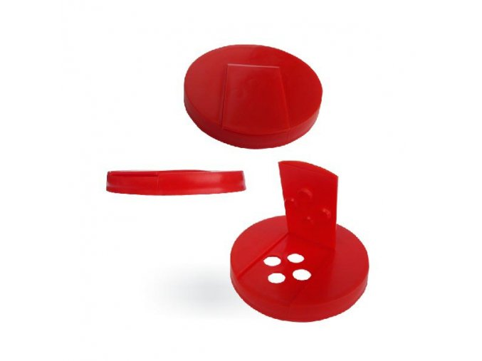 Uzávěr k lahvi PE 500ml NR 5 (Barva Červená)
