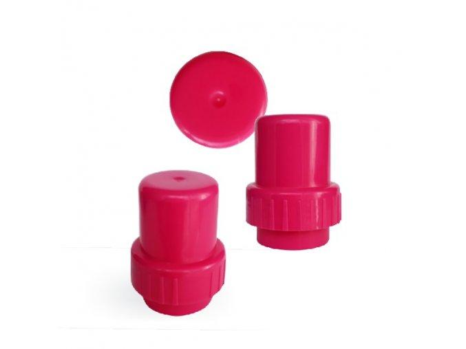 Uzávěr k lahvi TAO, Junior růžový (Barva Černá)