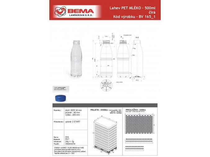 mleko 500ml nove O