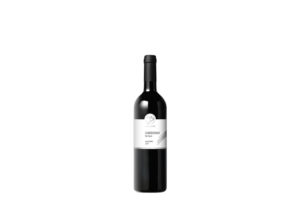 Chardonnay barrique 2018 bez cary bez popisu