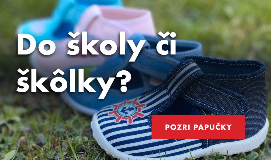 detské papuče Superfit, Ciciban do śkoly a škôlky