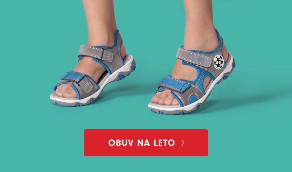 Detská letná obuv do veľkosti 40