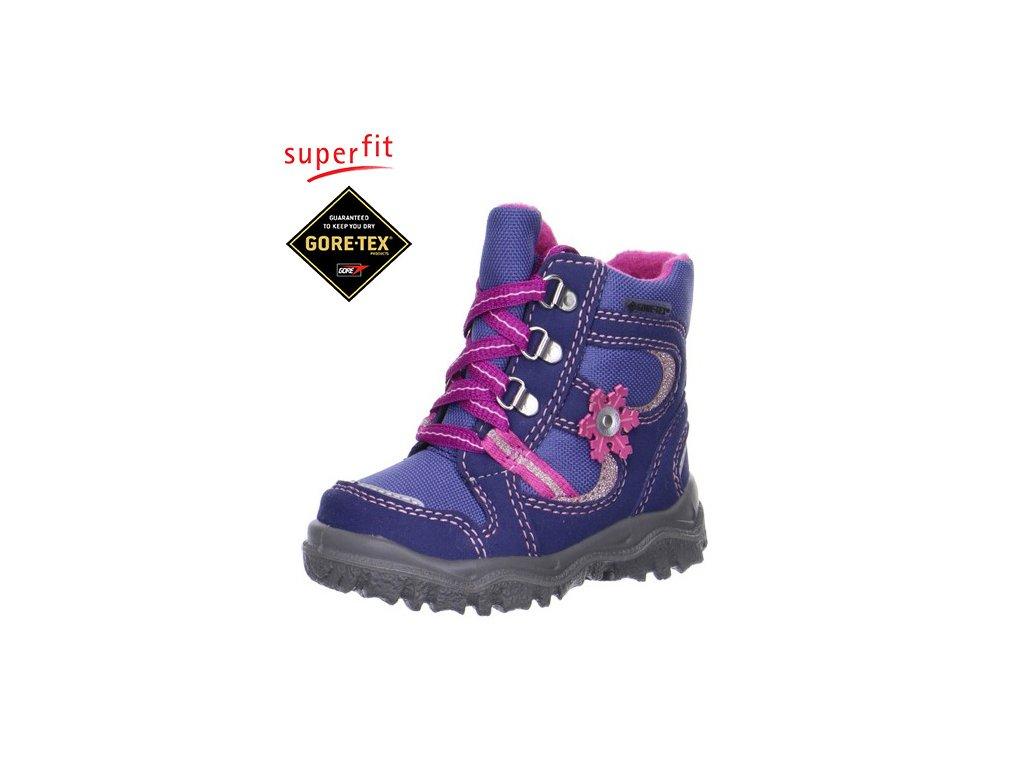 0db9ef8488b89 Detská obuv zimná goretexová Superfit 5 00048 87 - CENA JE PO ZĽAVE 20%,