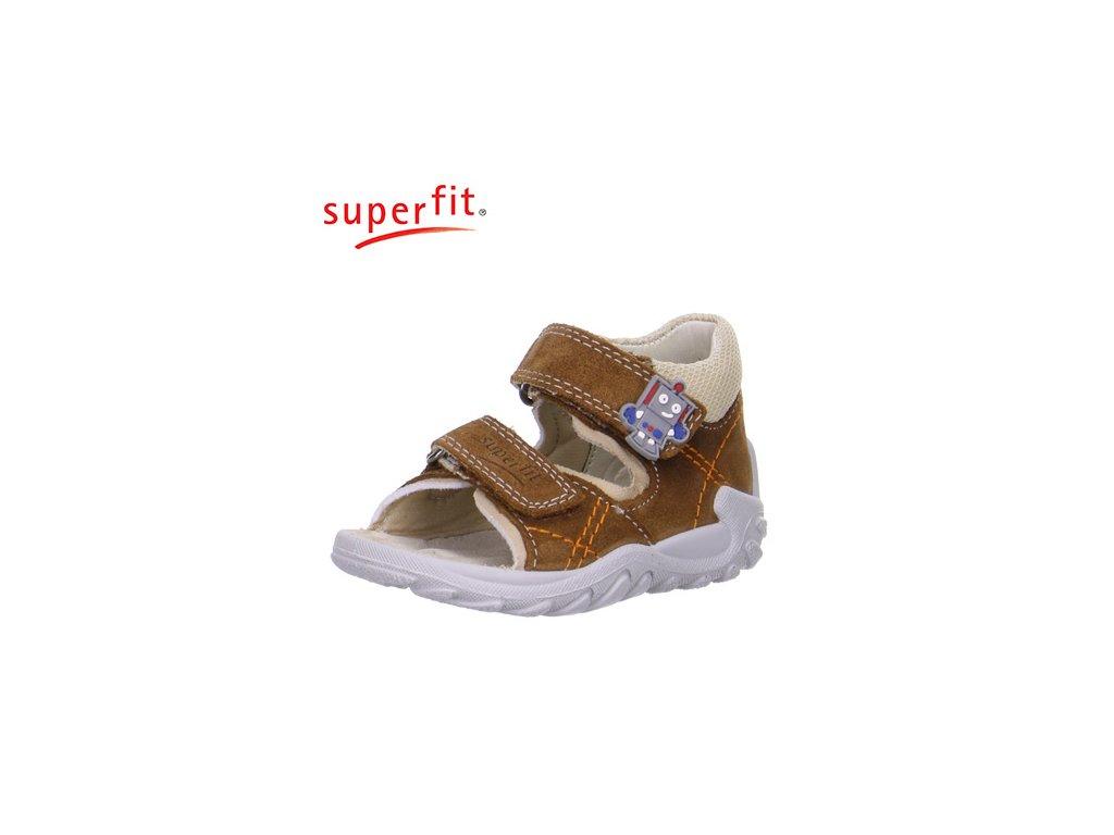 f4f3413dabf06 Detské zdravotné sandálky Superfit 6 00011 11 - CENA JE PO ZĽAVE 20%,  UŠETRÍTE