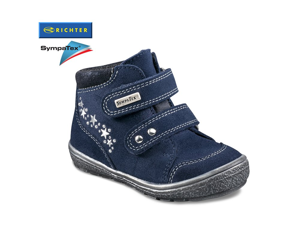 99271dd00466 Detská obuv Richter so Sympatex membránou 1533 832 7201. Dievčenské  celokožené topánky ...