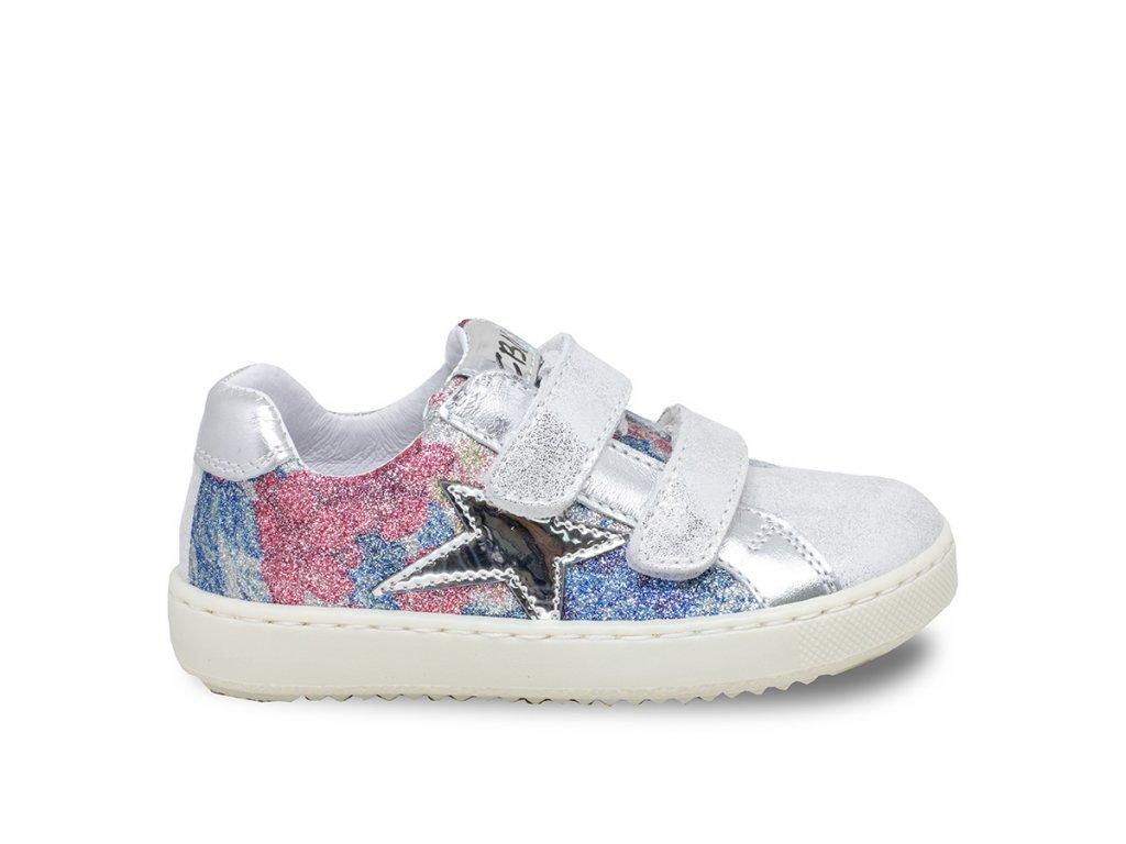 8b88ec60b5 Detská dievčenská prechodná obuv Ciciban 296609 Spring argento - beni.sk