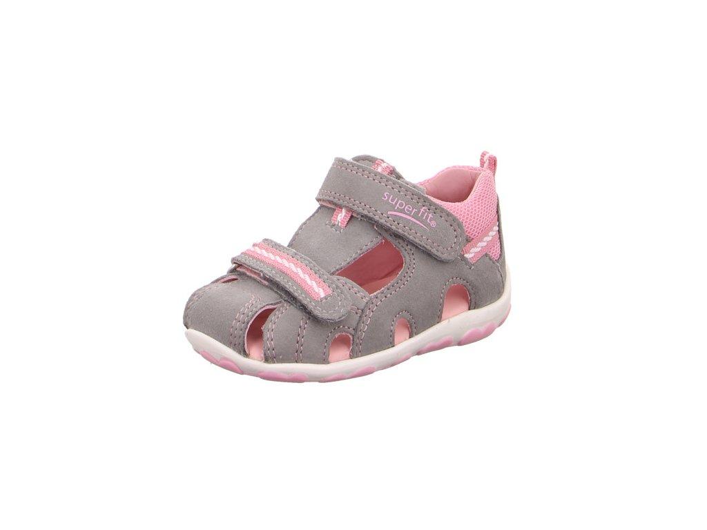 bf83ca5ea99f1 Detské dievčenské sandálky Superfit 4 00036 25 - beni.sk