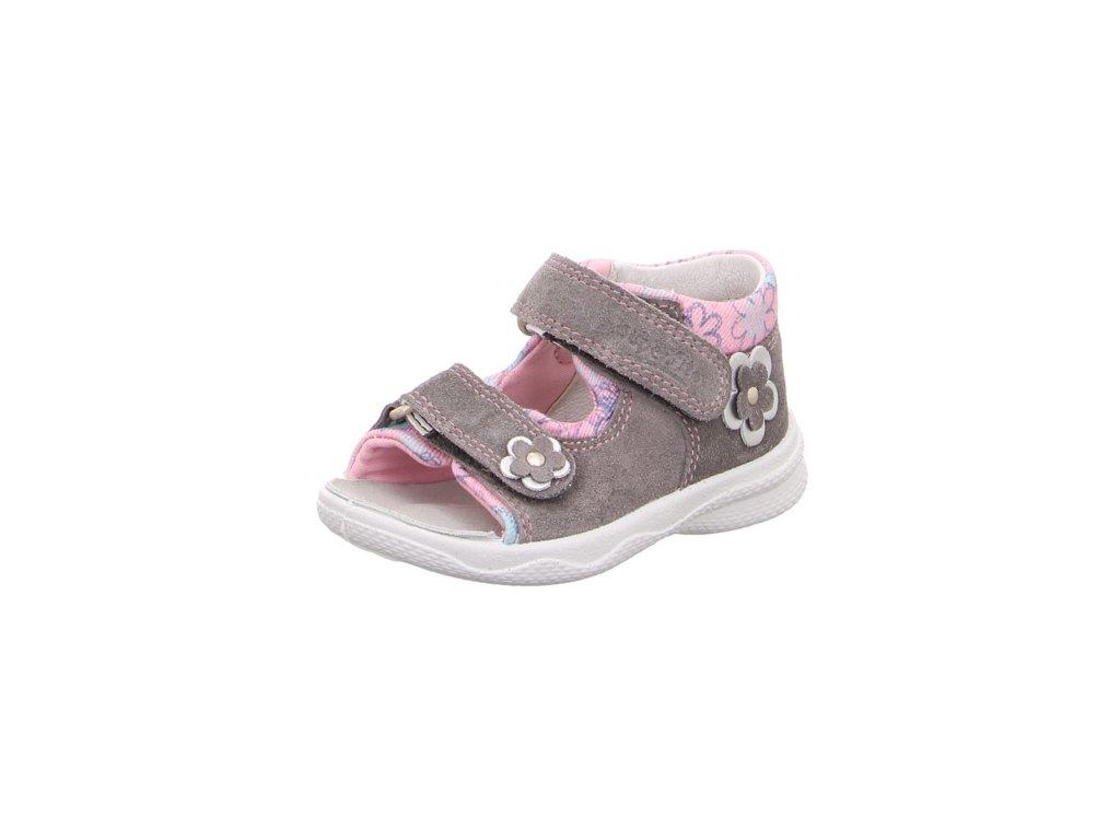 f0bf0bd340907 Detské dievčenské sandálky Superfit 4 00095 20 - beni.sk