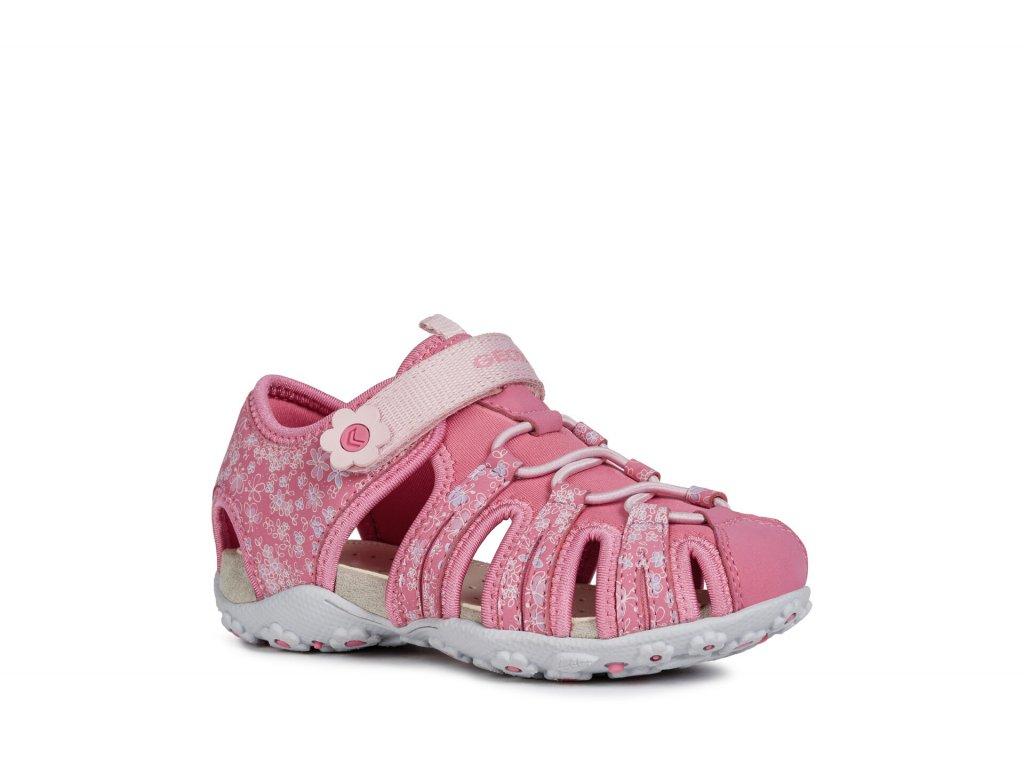 e4ffe43bb30a Dievčenské športové sandále Geox J92D9B 0CE15 C8002 Roxanne - beni.sk