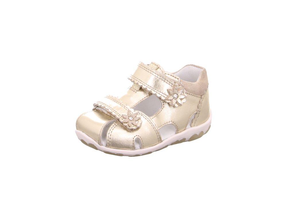 41a56d5fceec9 Detské dievčenské celokožené sandálky Superfit 4 09038 97 - beni.sk