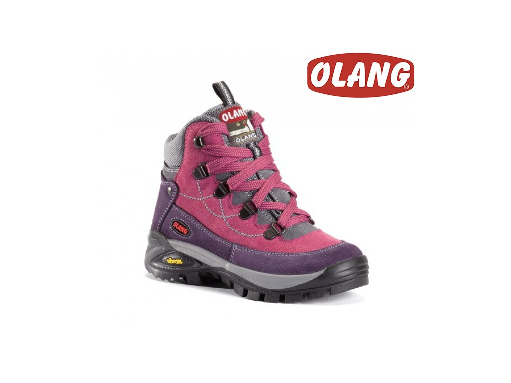 213edd83faa34 Trekingové topánky Olang Stelvio Kid tex ciclamino - beni.sk