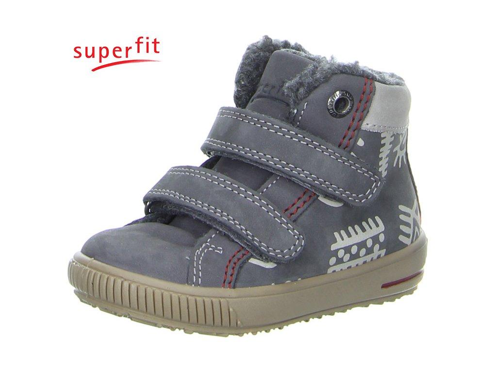 363033173 Detská obuv zimná Superfit 3 00351 06 - CENA JE PO ZĽAVE 20%, UŠETRÍTE