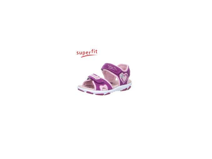 Detské sandále Superfit 4 00128 74  - CENA JE PO ZĽAVE 20%, UŠETRÍTE 9,2 EUR