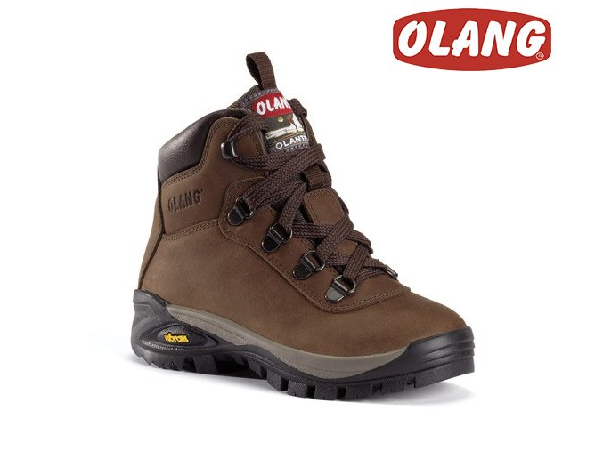 Trekingové topánky Olang Logan Kid tex Cuoio