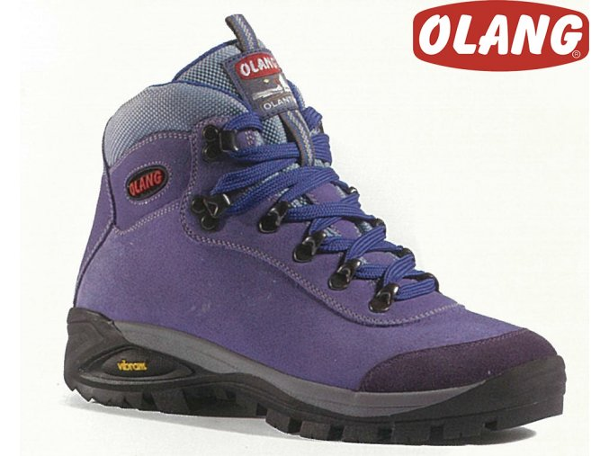 Trekingové topánky Olang Asiago Kid tex Lilla