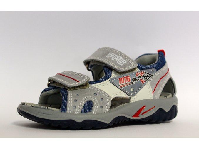 Sandále Primigi 3685300 Calipso šedá - CENA JE PO ZĽAVE 30%, UŠETRÍTE 14,37 EUR