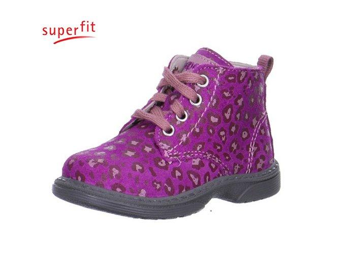Detská obuv celoročná Superfit 5 00340 74 - CENA JE PO ZĽAVE 30%, UŠETRÍTE 13,02 EUR (veľk.23), 13,99 EUR (veľk.26,28)