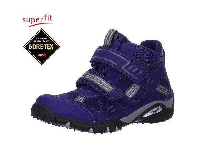 Chlapčenská obuv pre deti goretexová Superfit 5 00364 90