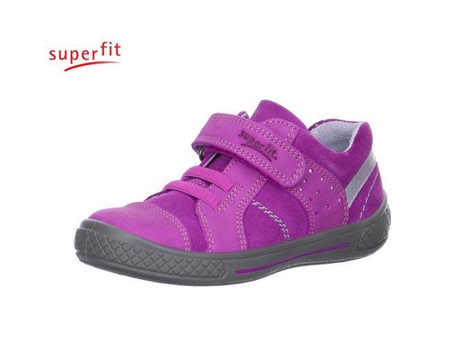 Dievčenská obuv celokožená Superfit 3 08102 61