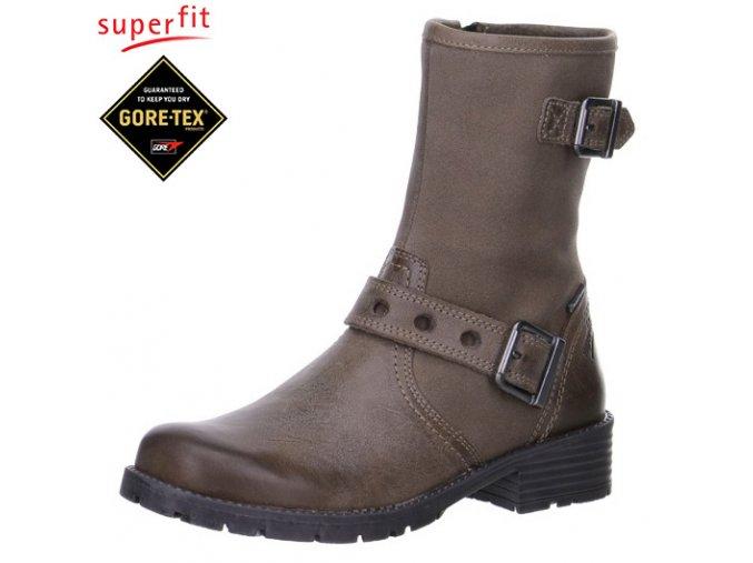 Detská obuv zimná gore-texová Superfit 5 00179 33  - CENA JE PO ZĽAVE 30%, UŠETRÍTE 23,58 EUR