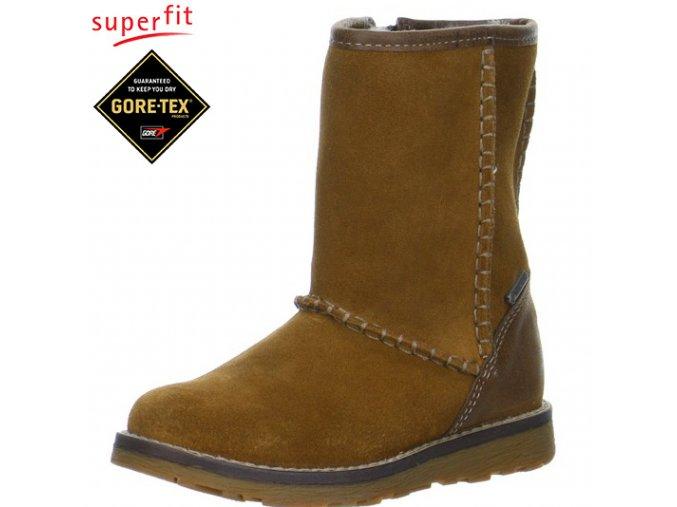 Detská obuv zimná goretexová Superfit 5 00394 23  - CENA JE PO ZĽAVE 20%, UŠETRÍTE 18,68 EUR (veľk.29) 20,38 EUR (veľk.32)