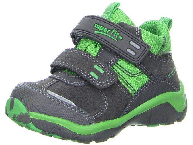 Detská obuv goretexová Superfit 3 00239 06 - CENA JE PO ZĽAVE 30%, UŠETRÍTE 21,3 EUR