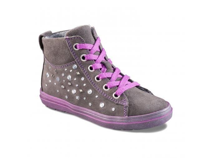 Dievčenská obuv Richter 4444 621 6610 Blikačky