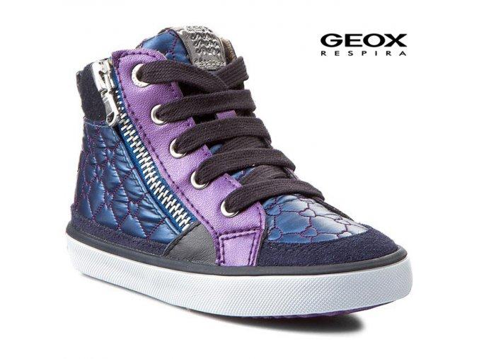 Detské dievčenské tenisky Geox B44D5E 0LU22 C4077