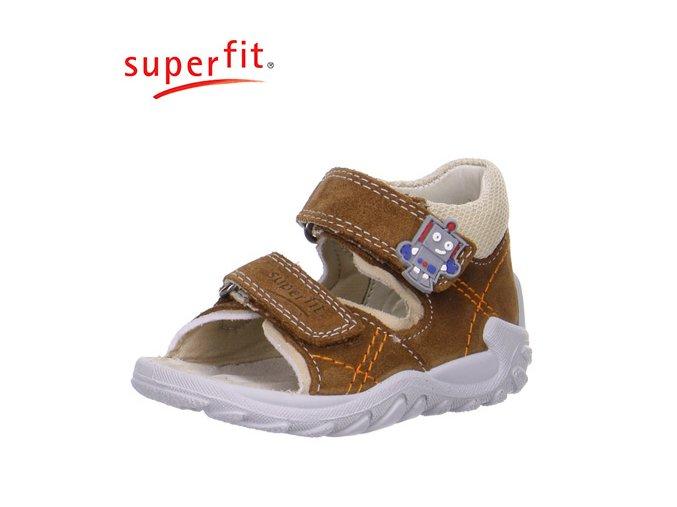 Detské zdravotné sandálky Superfit 6 00011 11  - CENA JE PO ZĽAVE 20%, UŠETRÍTE 8,44 EUR
