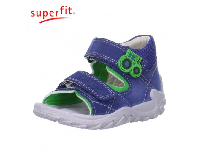 Detské zdravotné sandálky Superfit 6 00011 89  - CENA JE PO ZĽAVE 20%, UŠETRÍTE 8,44 EUR