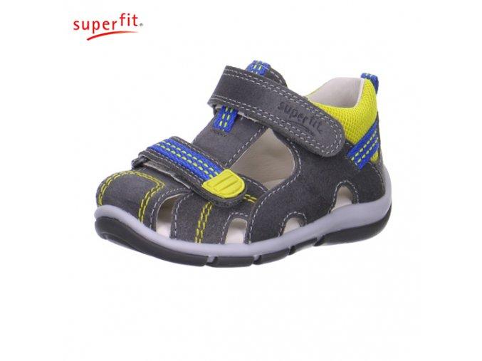 Detské sandálky Superfit 6 00140 05- CENA JE PO ZĽAVE 30%, UŠETRÍTE 13,02 EUR