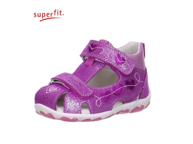 Detské sandálky Superfit 6 00037 73  - CENA JE PO ZĽAVE 30%, UŠETRÍTE 15,25 EUR