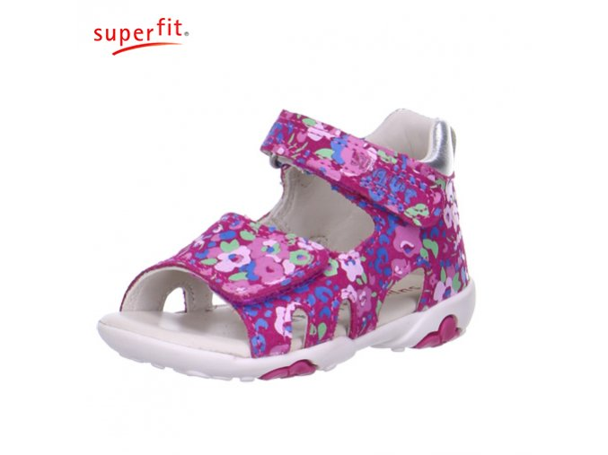 Dievčenské sandálky Superfit 6 00091 64  - CENA JE PO ZĽAVE 20%, UŠETRÍTE 8,68 EUR