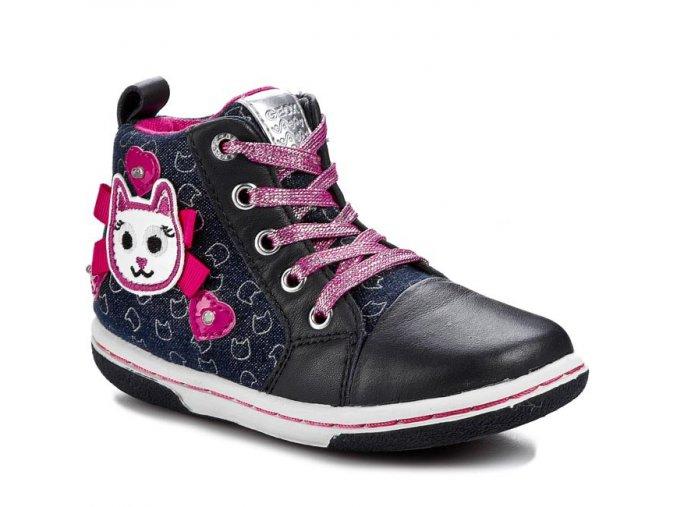 Celoročná dievčenská blikajúca obuv Geox B5234D 0DY43 C4117