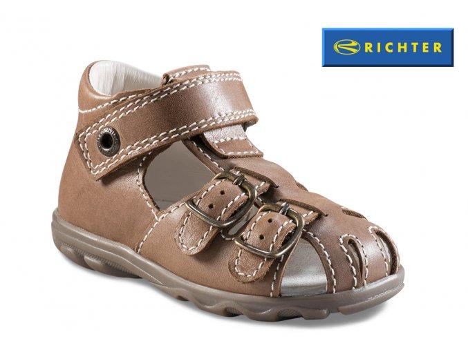 Detské zdravotné sandále Richter 2106 732 9110  - CENA JE PO ZĽAVE 20%, UŠETRÍTE 9,54 EUR
