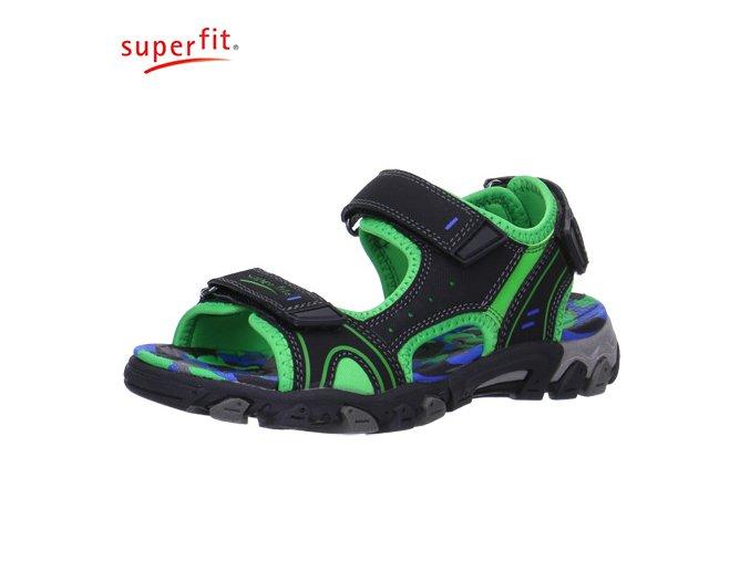 Chlapčenská letná obuv Superfit 6 00100 02
