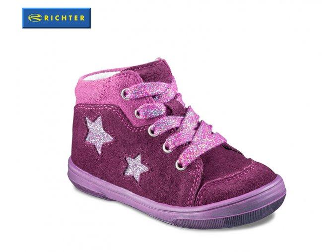 Celoročné dievčenské topánky Richter 0322 831 7401