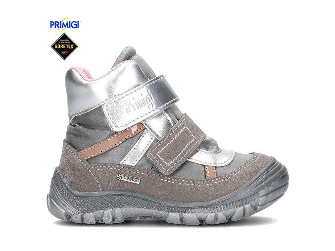 Dievčenská zimná Goretexová obuv Primigi 60985/77 MECCO